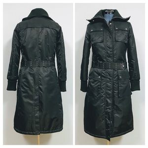 Fits L/14 ⛄️ Nautica—Belted Black Winter Trench